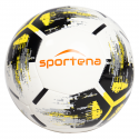 Football Sportena – White and Black- Yellow