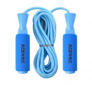 Short Handle Skipping Rope Blue