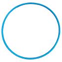 Hula Hoop 80CM Blue