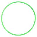 Hula Hoop 80CM Lime