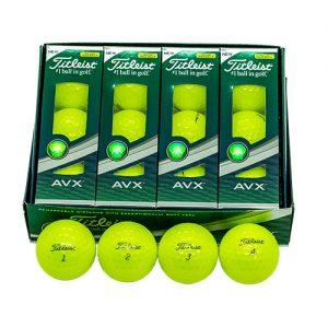 Golf Ball Titleist AVX Yellow