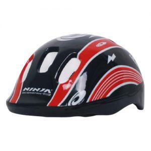 Kids Helmet Black & Red