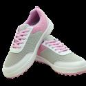 Ladies Mesh Golf Shoe PGM Pink-White