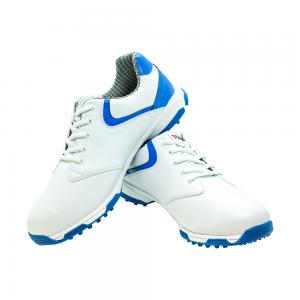 Men's Golf Shoe PGM Leather - Black- Blue