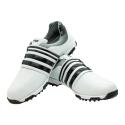 Men's Golf Shoe PGM Leather Auto-lacing –  White-Black