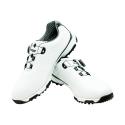 Men's Golf Shoe PGM Leather Auto-lacing – White