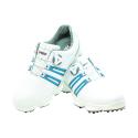 Men's Golf Shoe PGM Leather Auto-lacing –  White-Blue