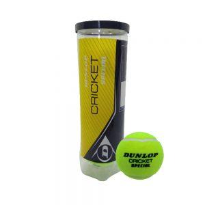 Dunloap Cricket Special Tennis Ball