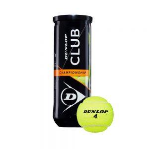 Tennis Balls Dunlop Club Championship