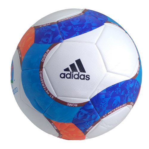 Football Adidas Dublin Blue Orange