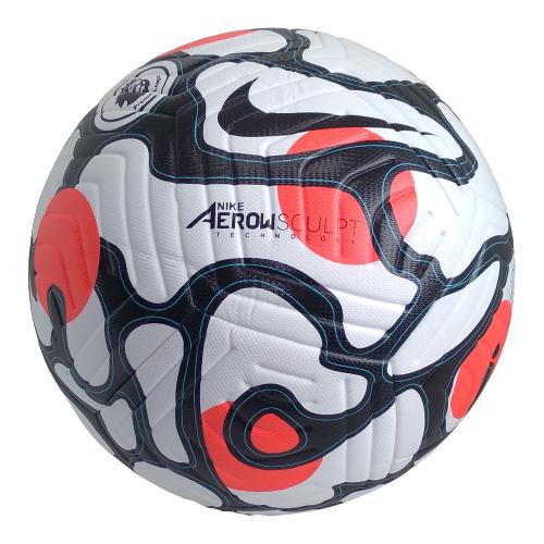 Football Nike Flght White Red
