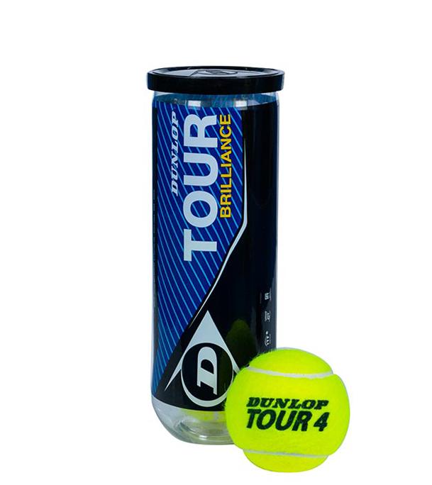 Tennis Ball Dunlop Tour Brilliance