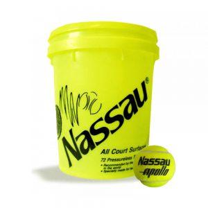 Tennis Ball Nassau All Court Apollo
