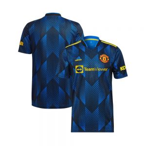 Manchester United Trird Kit 2021 Blue