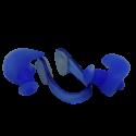 Soft Silicon Ear & Nose Plug Set Blue